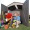Handy Home Majestic Wood 8x12 Storage Shed Storage Shed