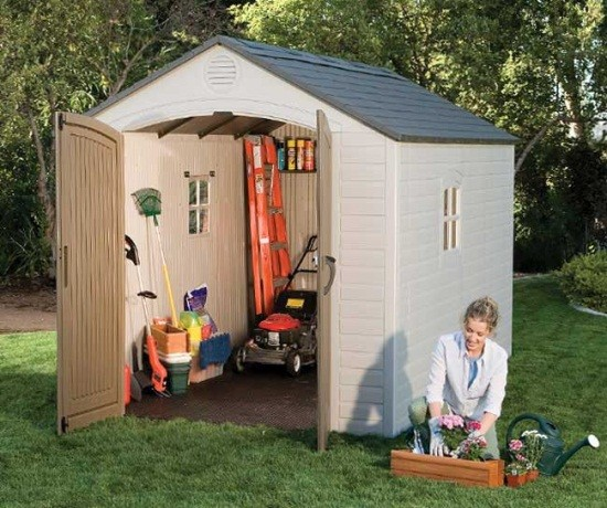 Shed Reviews: Lifetime 6405 8u0027 X 10u0027 Storage Shed