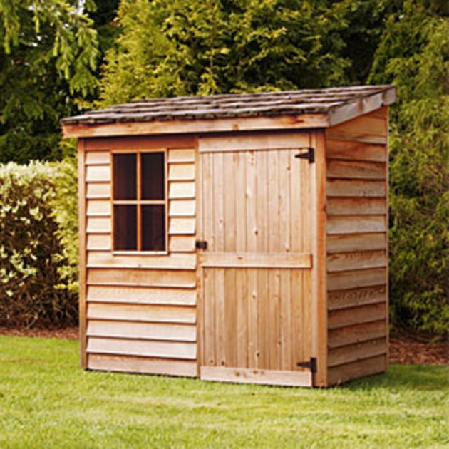 shed reviews cedar banff wood 6x3 storage shed - Garden Sheds 6 X 3