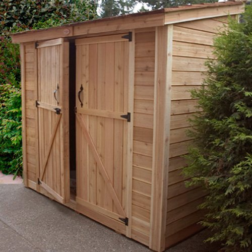 Shed Reviews: Outdoor Living Today SS84D SpaceSaver 8x4 Storage Shed